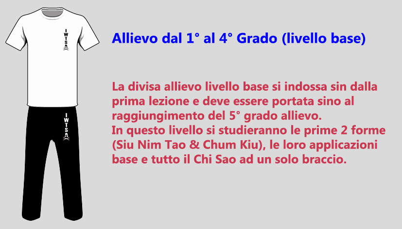 divisa allievo 1-4